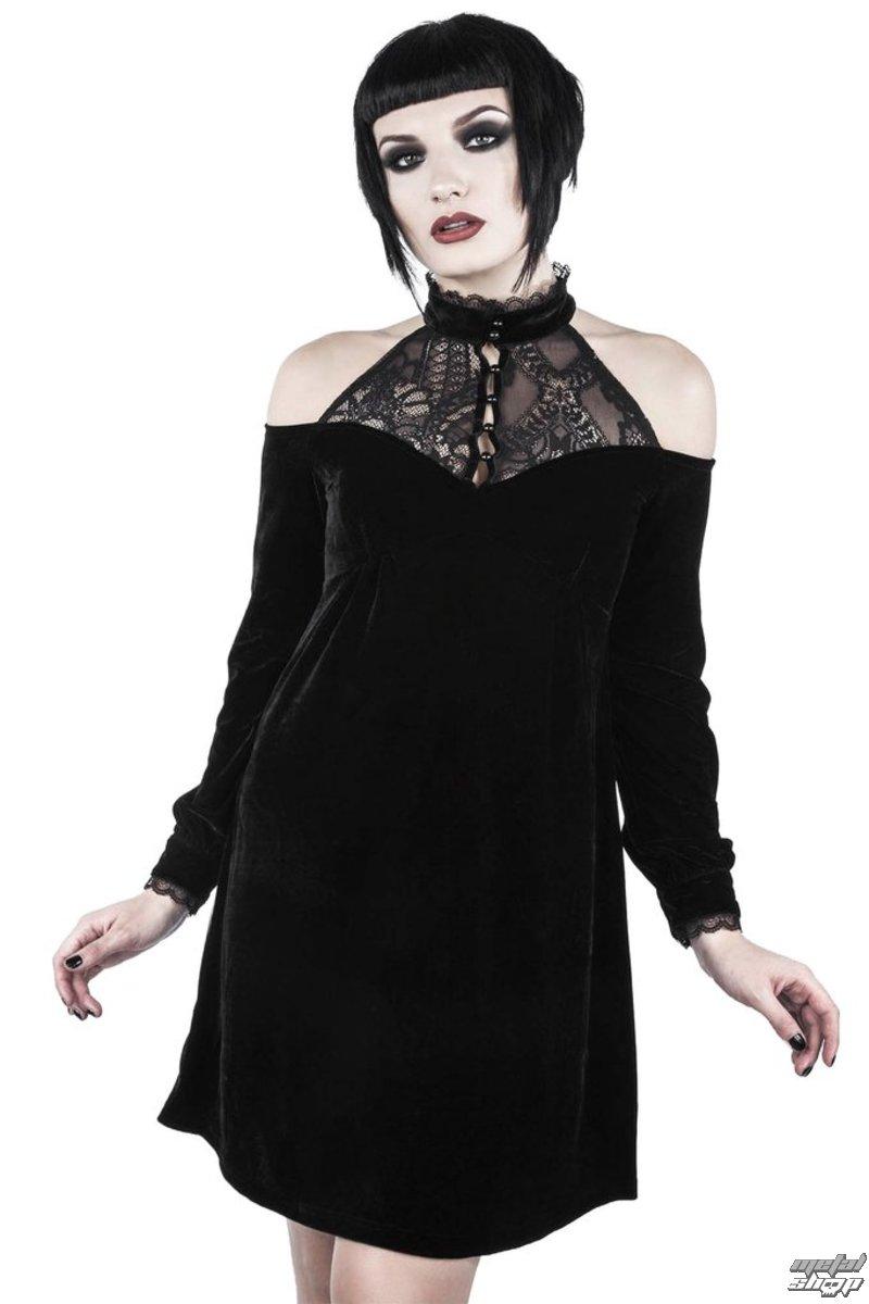 52a0c7bbf61d šaty dámské KILLSTAR - WICKED WEBUTANT SKATER - BLACK - K-DRS-F-2807 ...