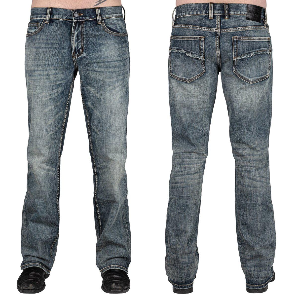 kalhoty pánské (jeans) WORNSTAR - Trailblazer - WSP-TBB
