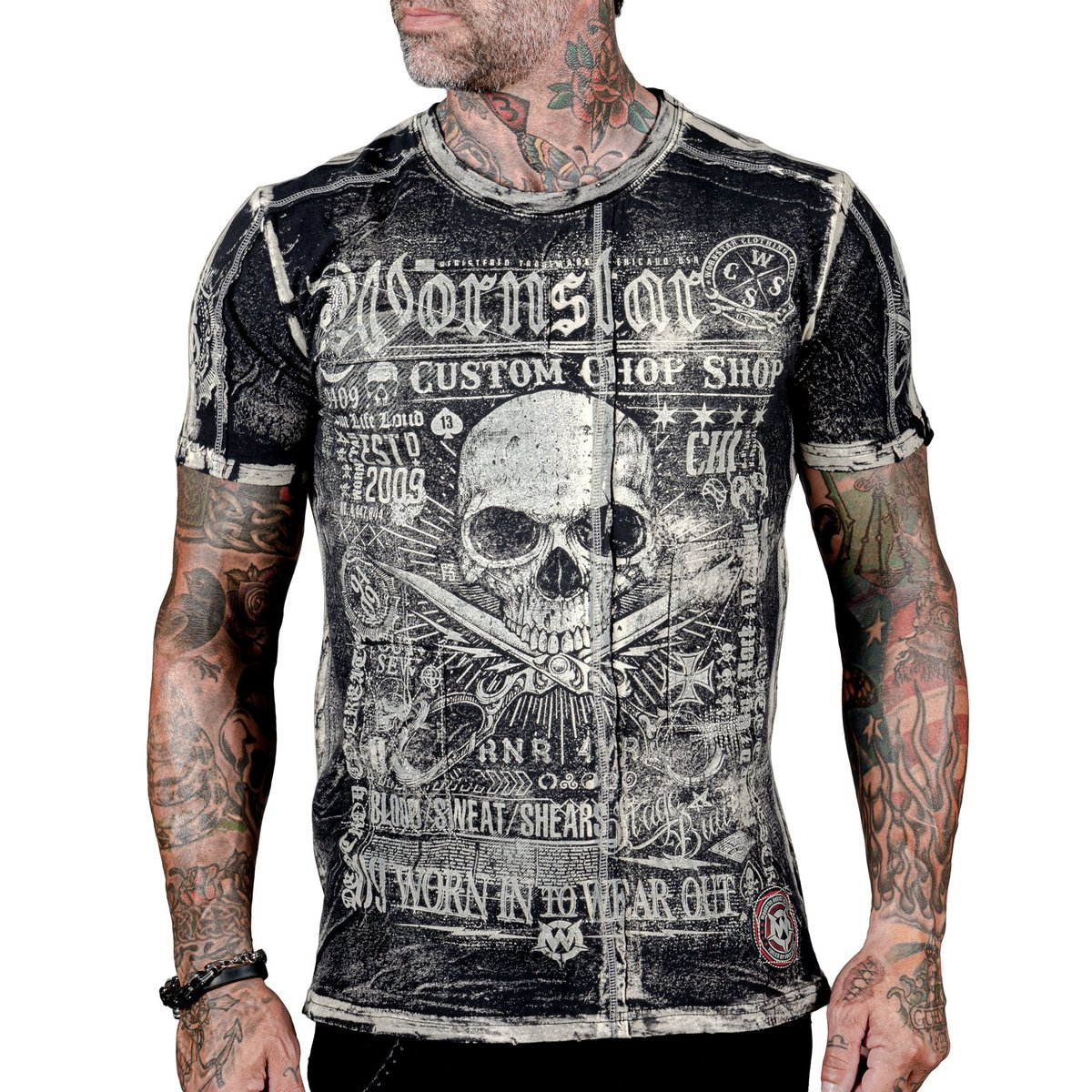 WORNSTAR Blood Sweat and Shears černá