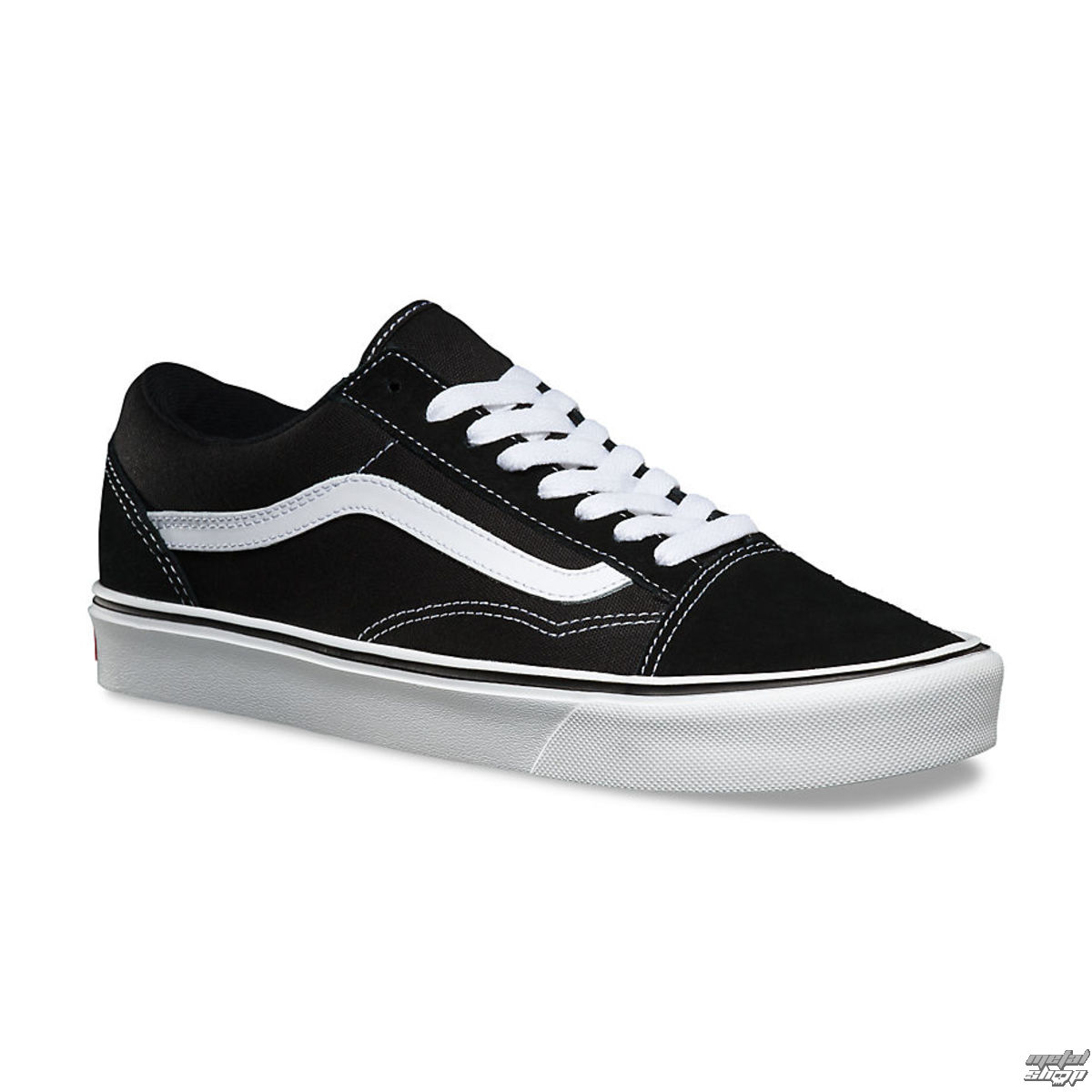 boty VANS - UA Old Skool Lite - Suede Canvas Black White ... c26c2c40653