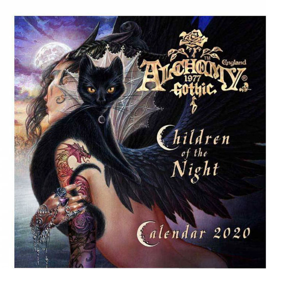 kalendář ALCHEMY GOTHIC - Children Of The Night - CAL20