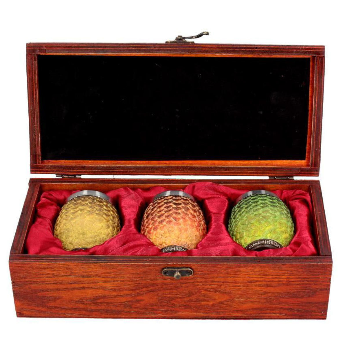 panáky (sada) Game of thrones - Drogon, Rhaegal, Viserion Dragon Egg - B3699J7
