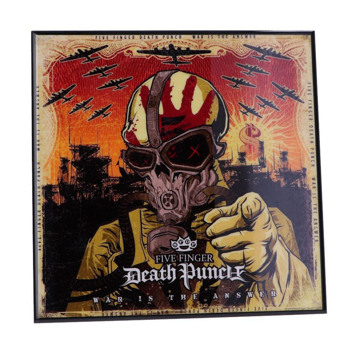 obraz NNM Five Finger Death Punch War is the Answer
