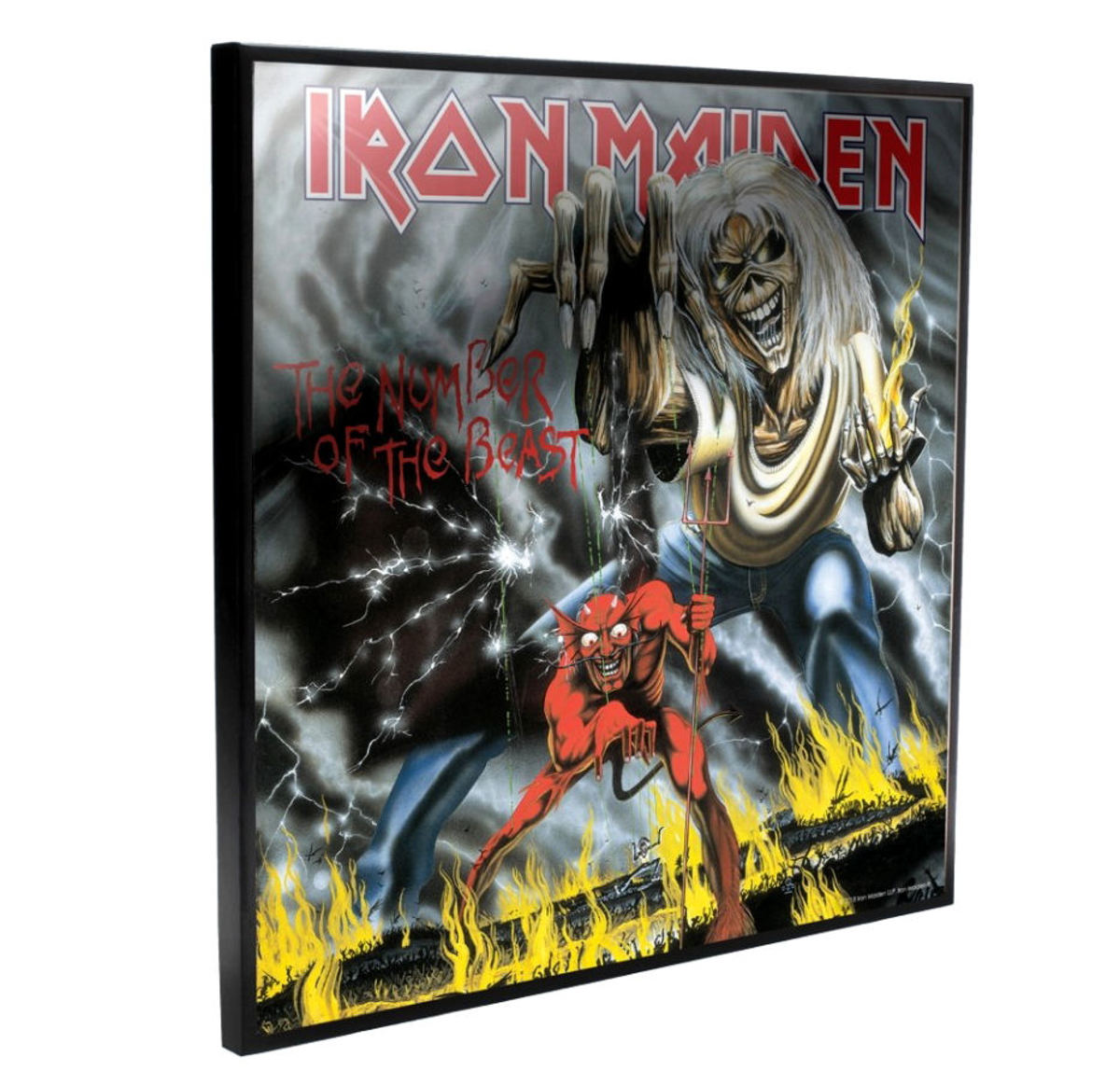 obraz NNM Iron Maiden Number of the Beast