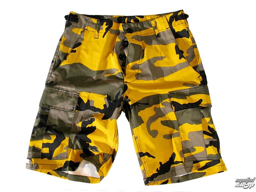 kraťasy pánské US-BDU - Army - Yellow Camo - 200800_YELLOW-CAM