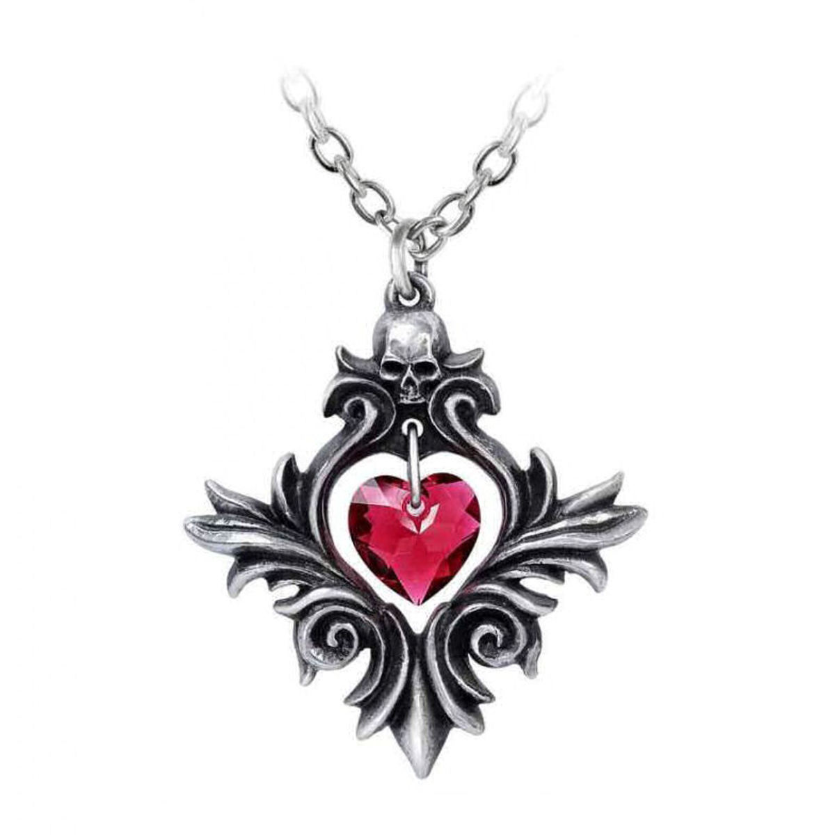 obojek ALCHEMY GOTHIC - Bouquet Of Love - Pewter - P905