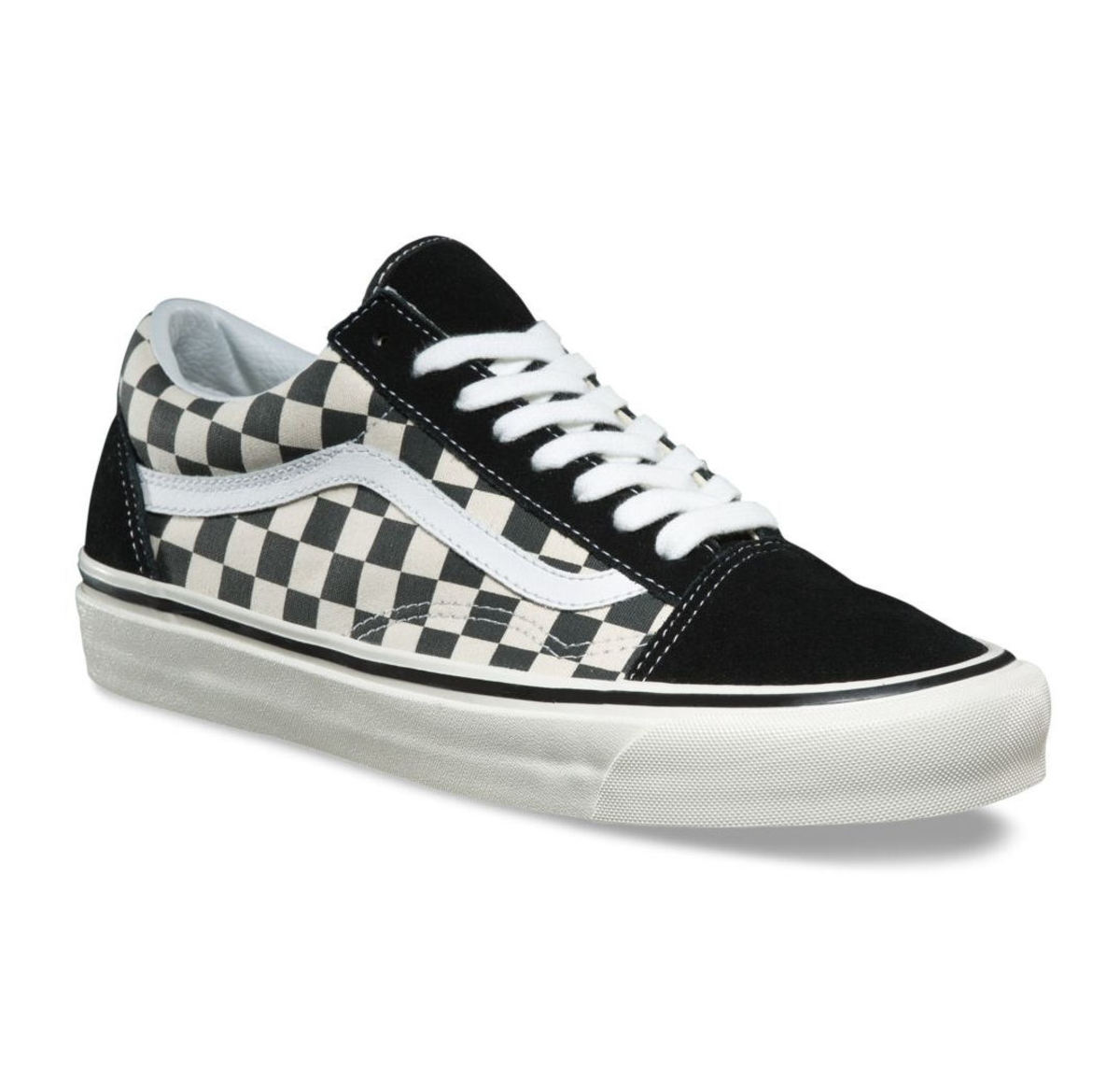 6bf009889 boty VANS - UA Old Skool (PRIMARY CHECK)- Blk/Wht - VN0A38G1P0S1 ...