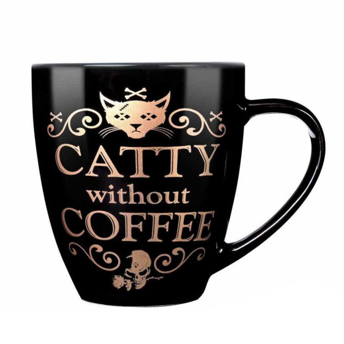 hrnek ALCHEMY GOTHIC - Catty Without Coffee - ALMUG7