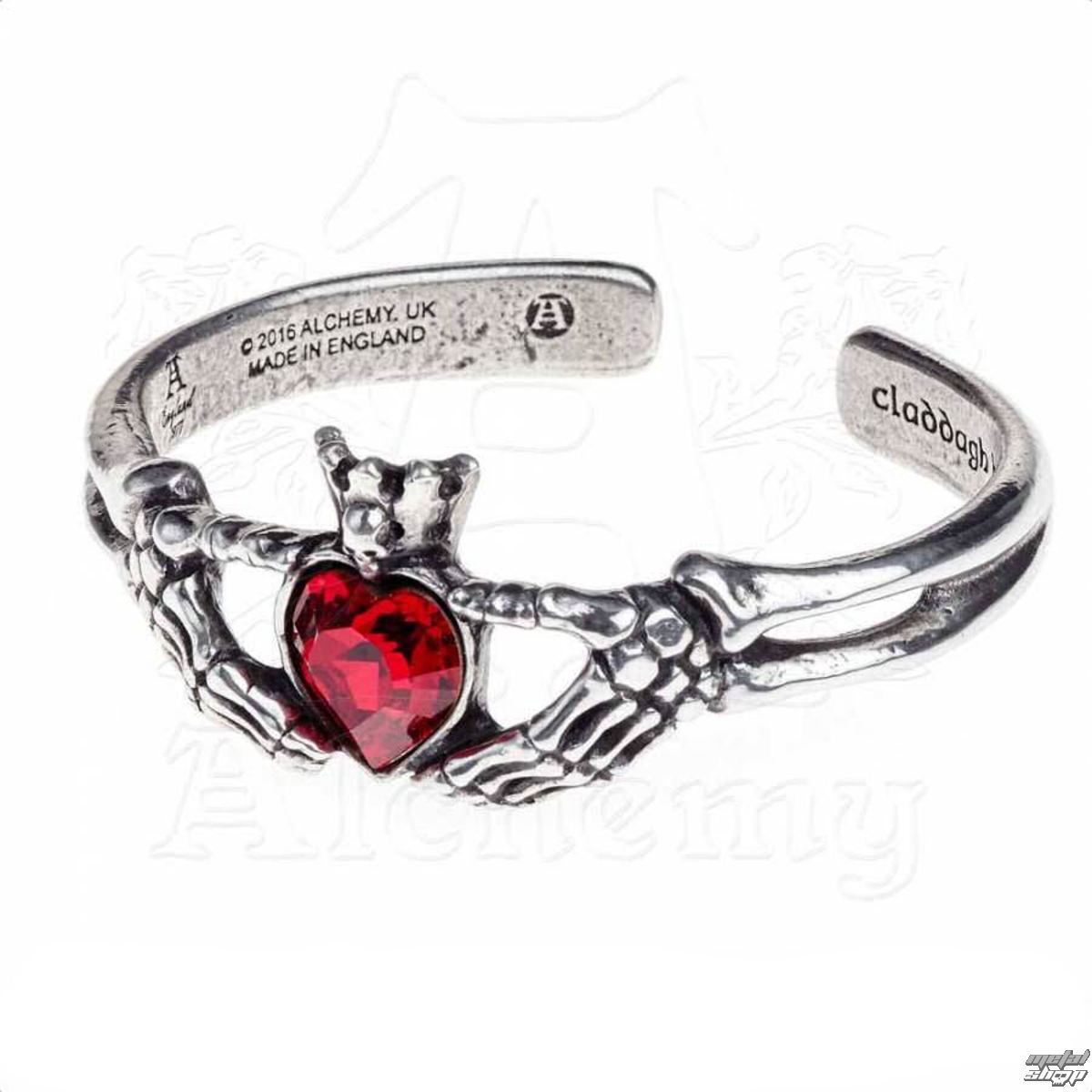 náramek ALCHEMY GOTHIC Claddagh By Night
