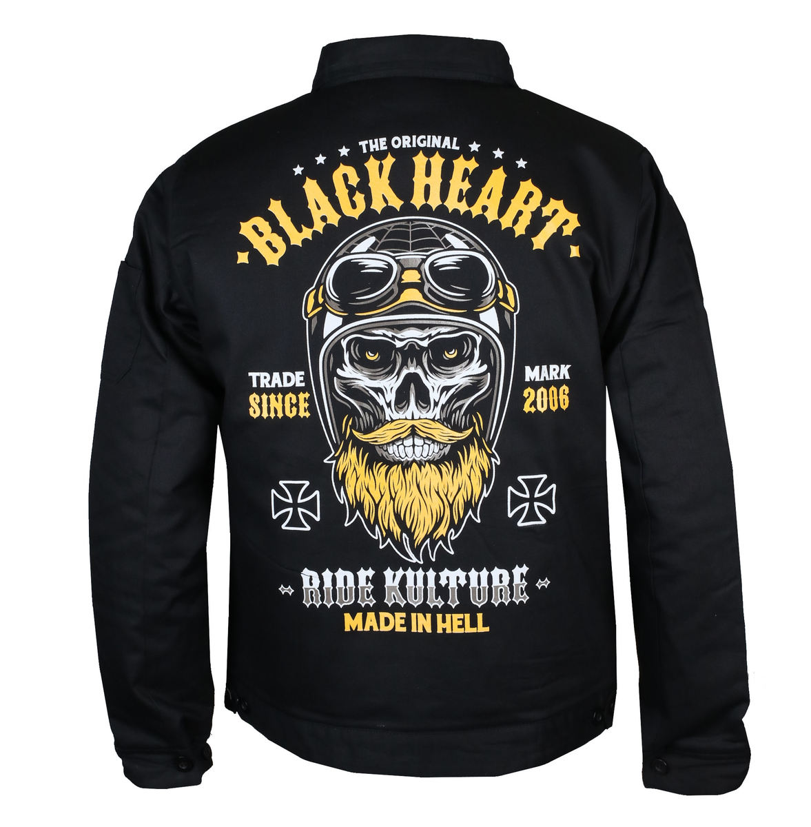 bunda jarněpodzimní BLACK HEART WHISKERY M