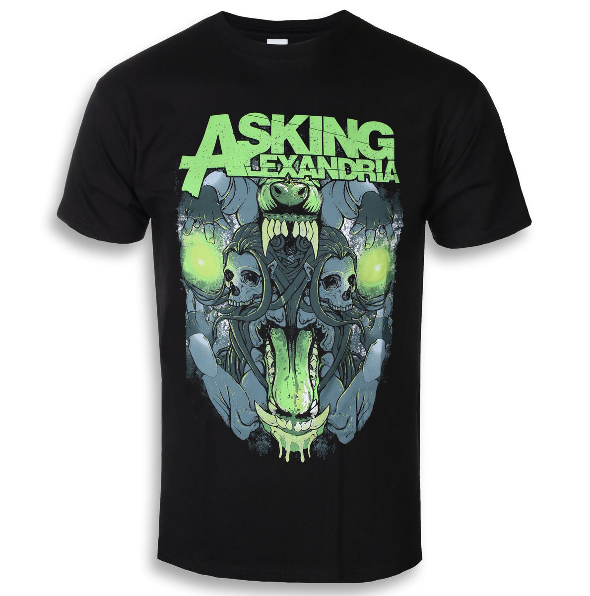 ROCK OFF Asking Alexandria Teeth černá