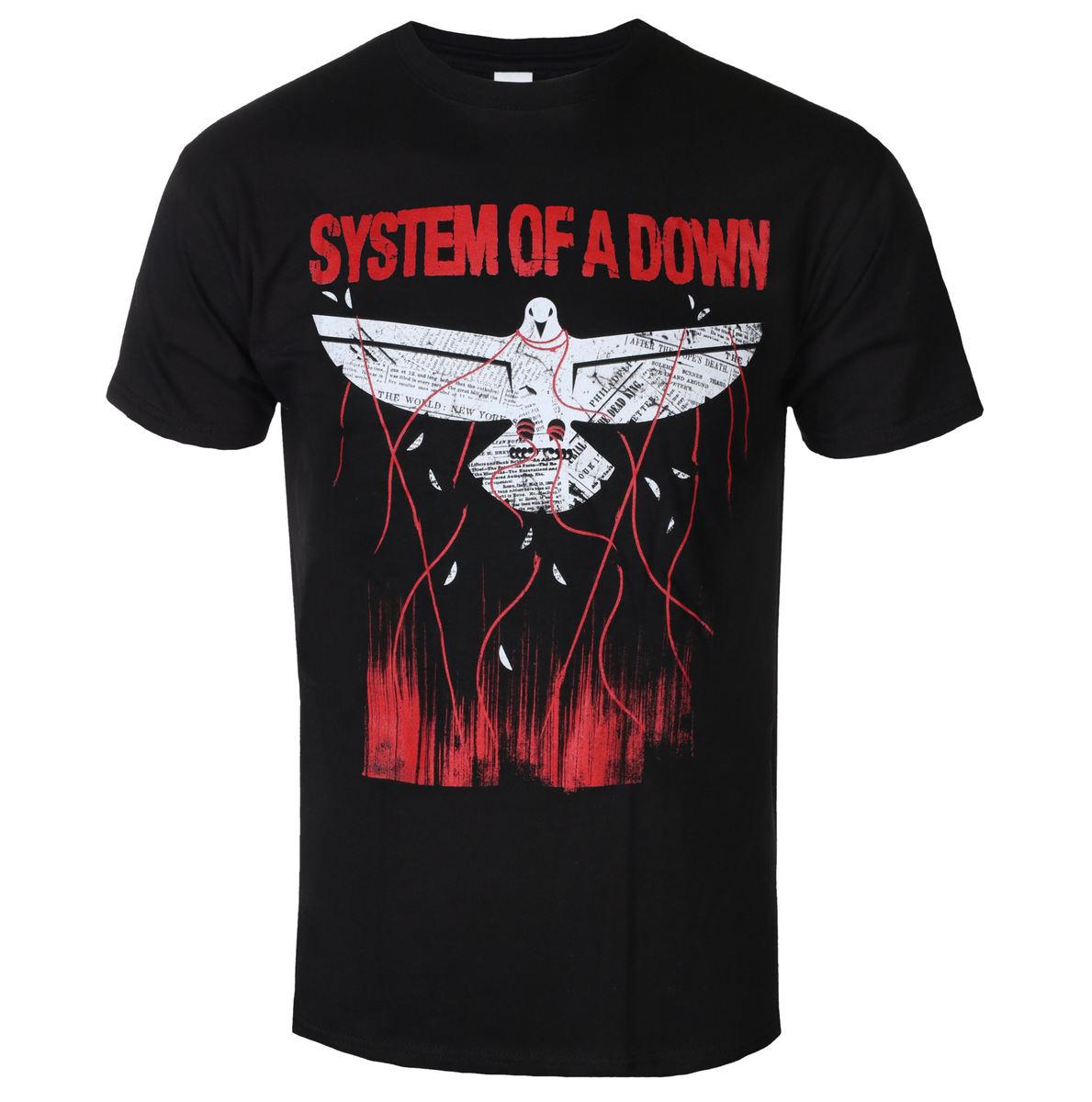 tričko pánské System Of A Down - Dove Overcome - ROCK OFF - SOADTS11MB