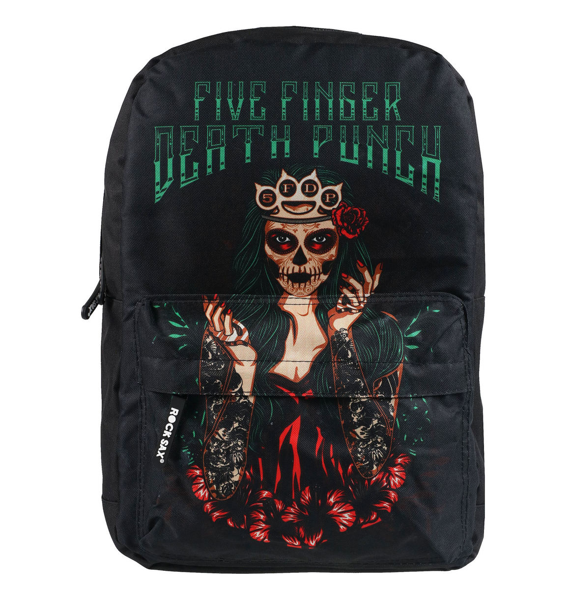 batoh NNM Five Finger Death Punch GREEN