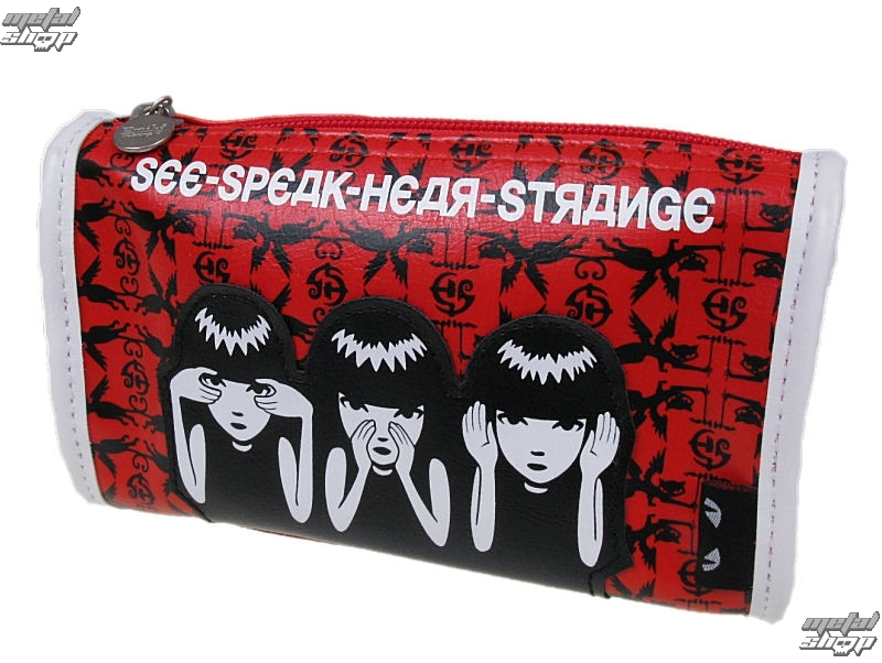taška , kabelka EMILY THE STRANGE - Emily (E3081407) See Speak Hear Strange Make Up Case