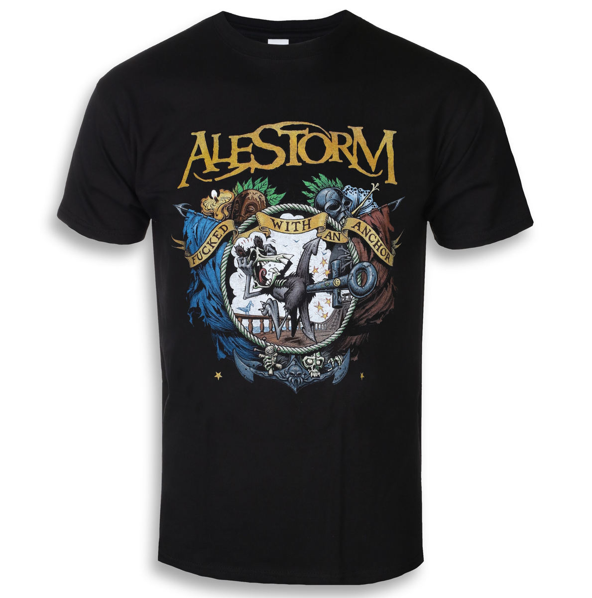 NAPALM RECORDS Alestorm Fucked With An Anchor černá