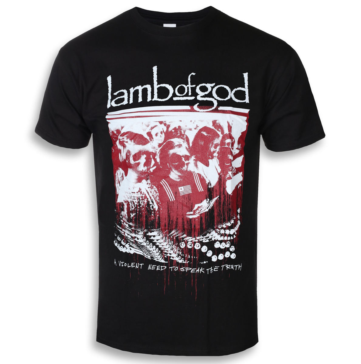 tričko pánské Lamb Of God - Enough Is Enough - ROCK OFF - LAMBTS05MB