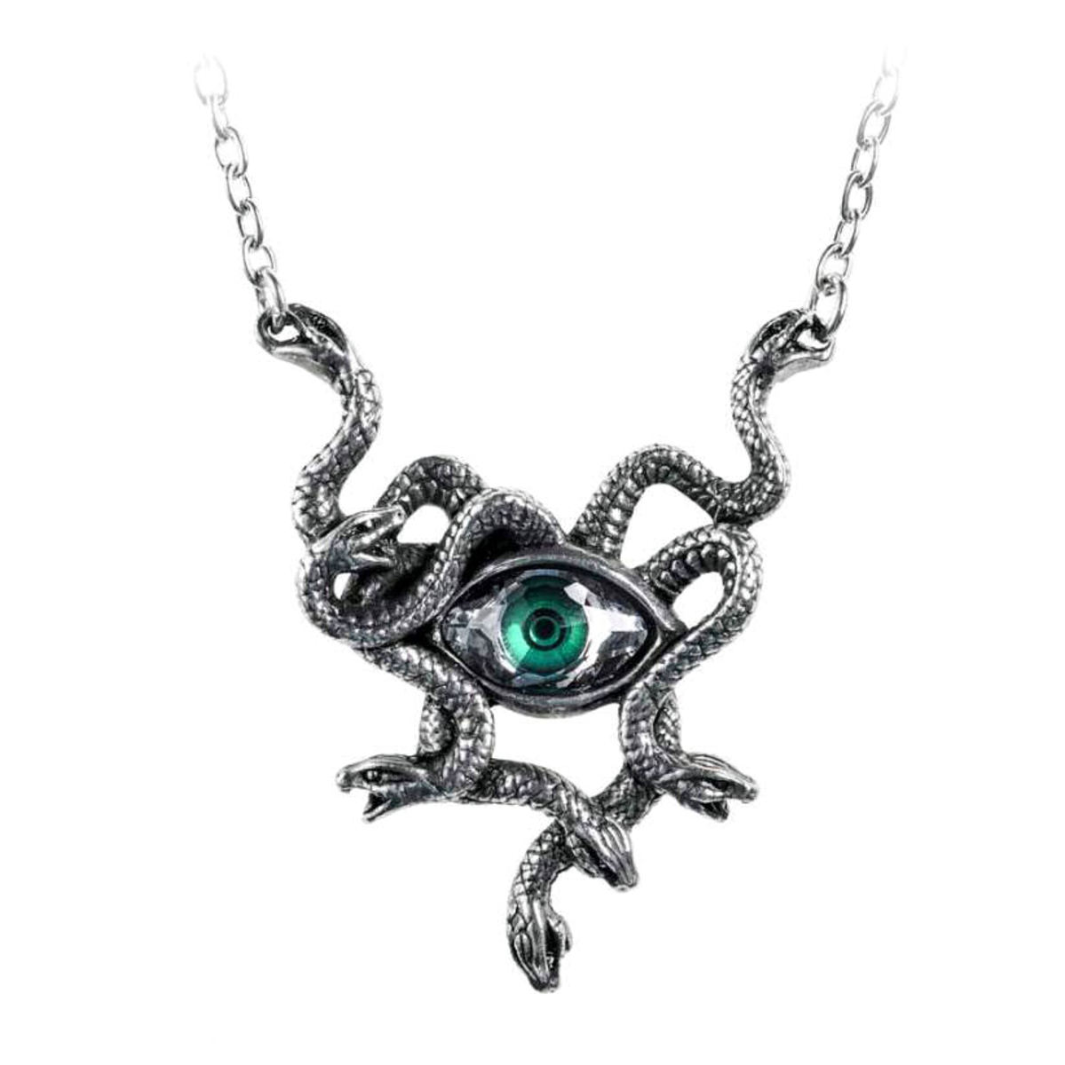obojek ALCHEMY GOTHIC -  Gorgons Eye - P847