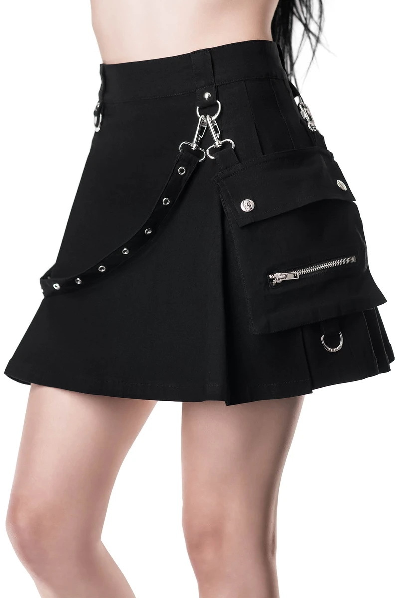 sukně KILLSTAR Gunner Pleated XL