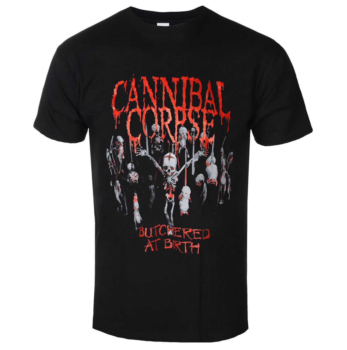 tričko pánské Cannibal Corpse - Butchered At Birth - PLASTIC HEAD