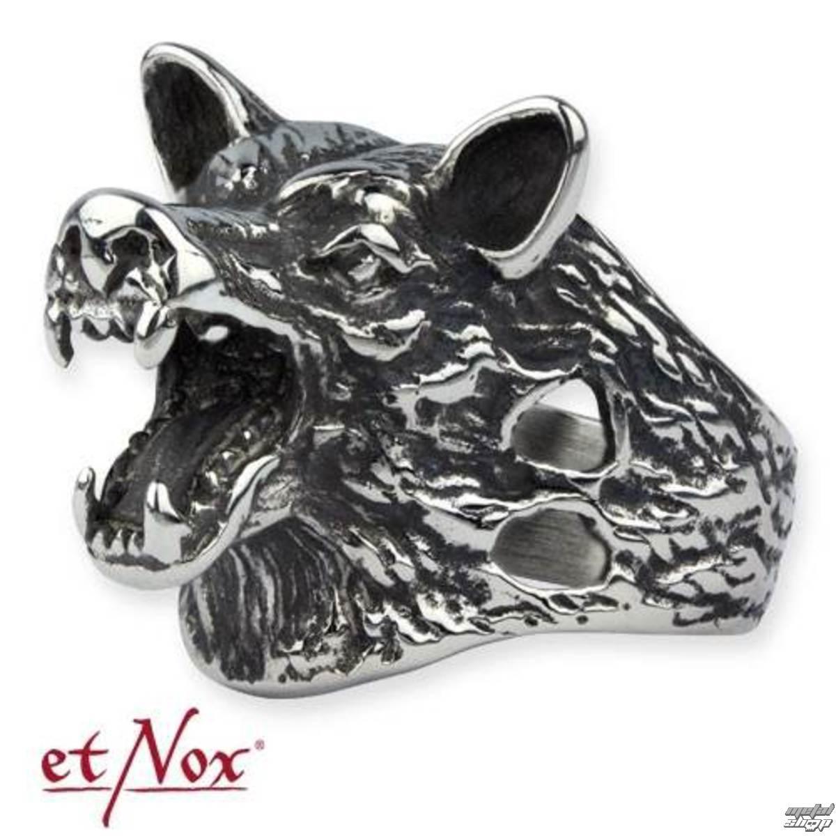 prsten ETNOX - Wolf Head - SR1169
