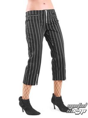 kalhoty dámské 3/4 Mode Wichtig - Zip Slacks Pin Stripe - M-1-70-050-01