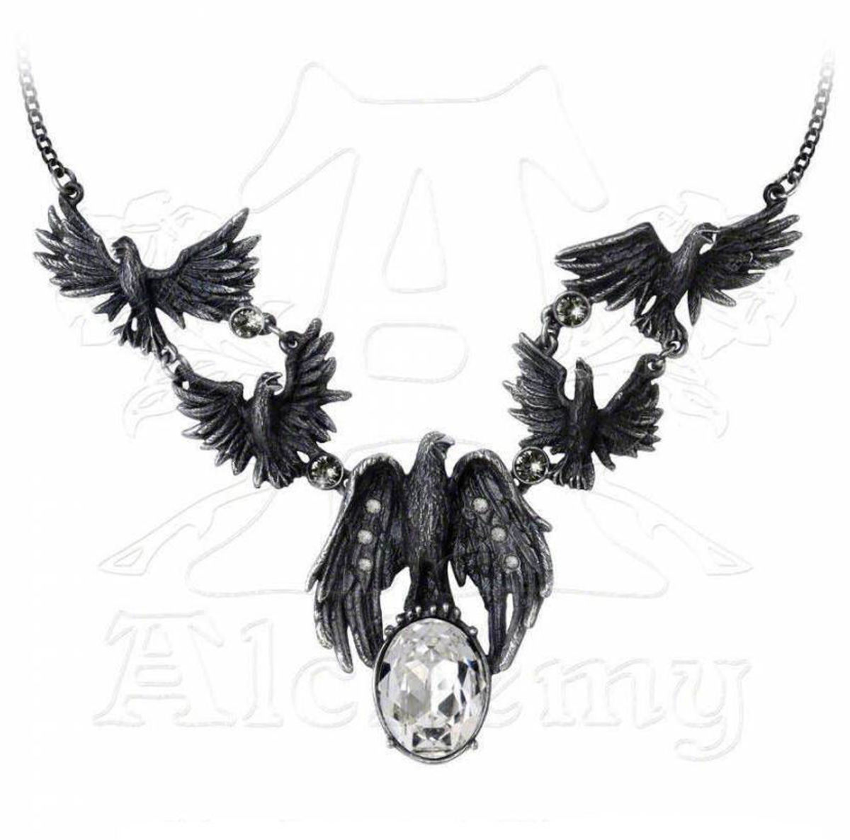 obojek A Murder Of Crows - ALCHEMY GOTHIC - P677