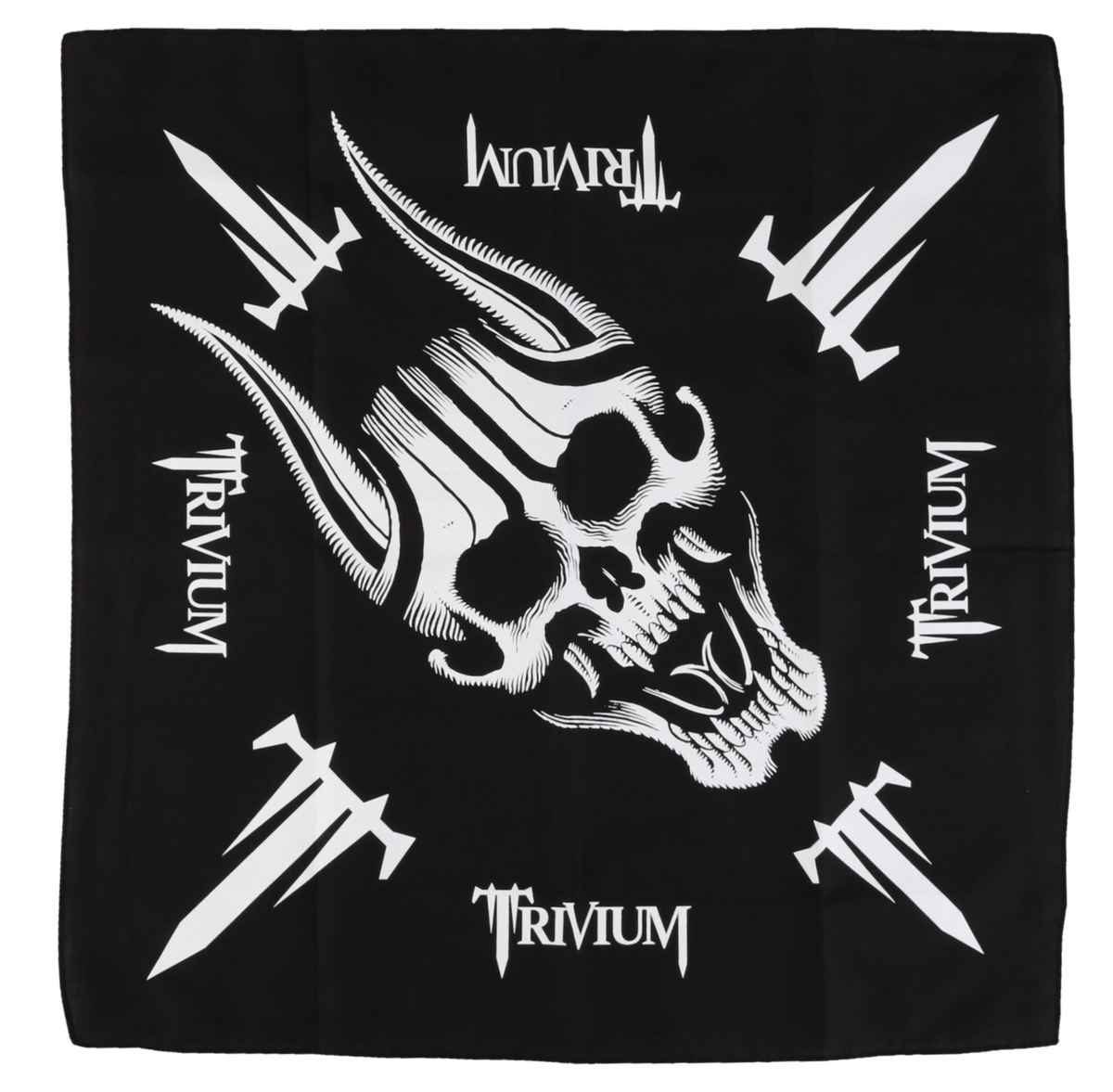 šátek TRIVIUM - SCREAMING SKULL - RAZAMATAZ - B053