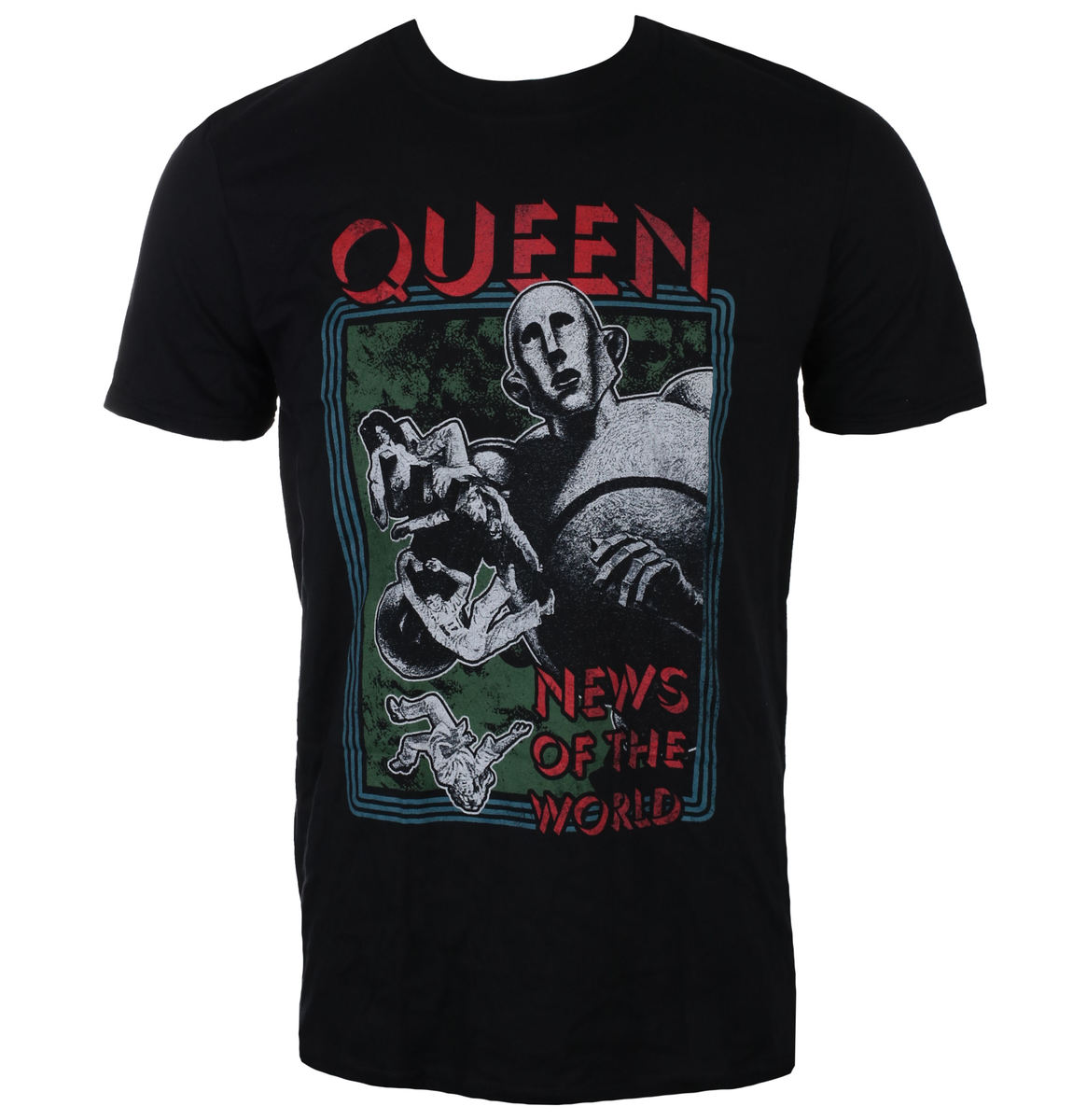ROCK OFF Queen News of the World černá