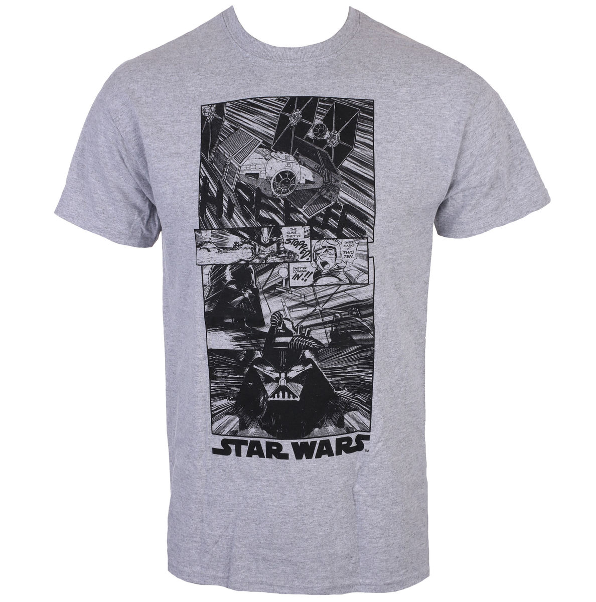 tričko pánské STAR WARS - New Hope Manga - CHARCOAL - LIVE NATION - PCSTW1436