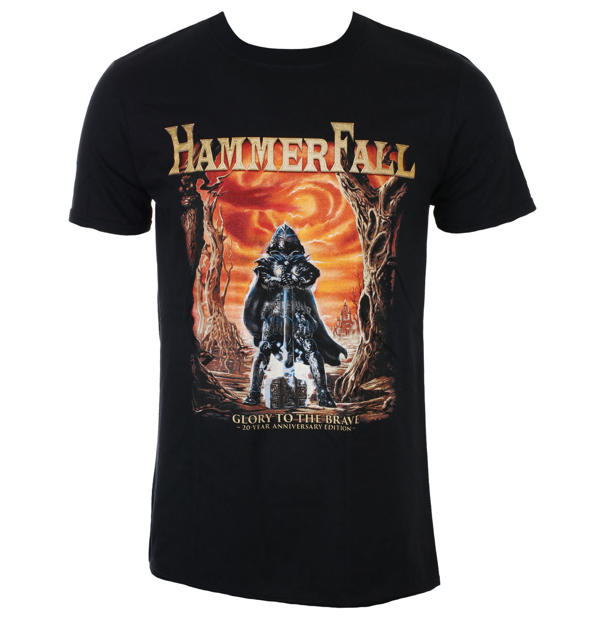 tričko pánské HAMMERFALL - Glory To The Brave – 20th Anniversary Edition - NAPALM RECORDS - TS_4758