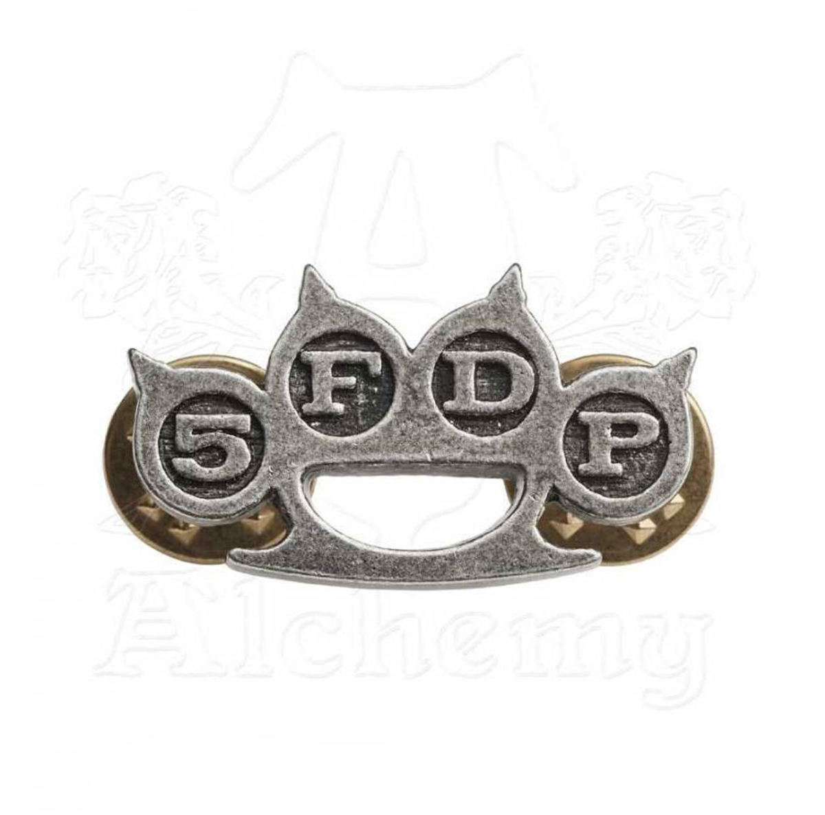 připínáček Five Finger Death Punch - Knuckle Duster - ALCHEMY GOTHIC - PC507