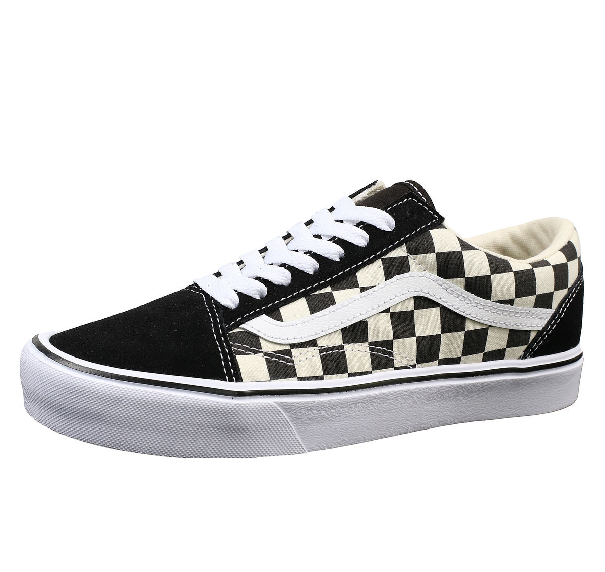 boty VANS - UA OLD SKOOL LITE (Checkerboard) - Black /White - VA2Z5W5GX