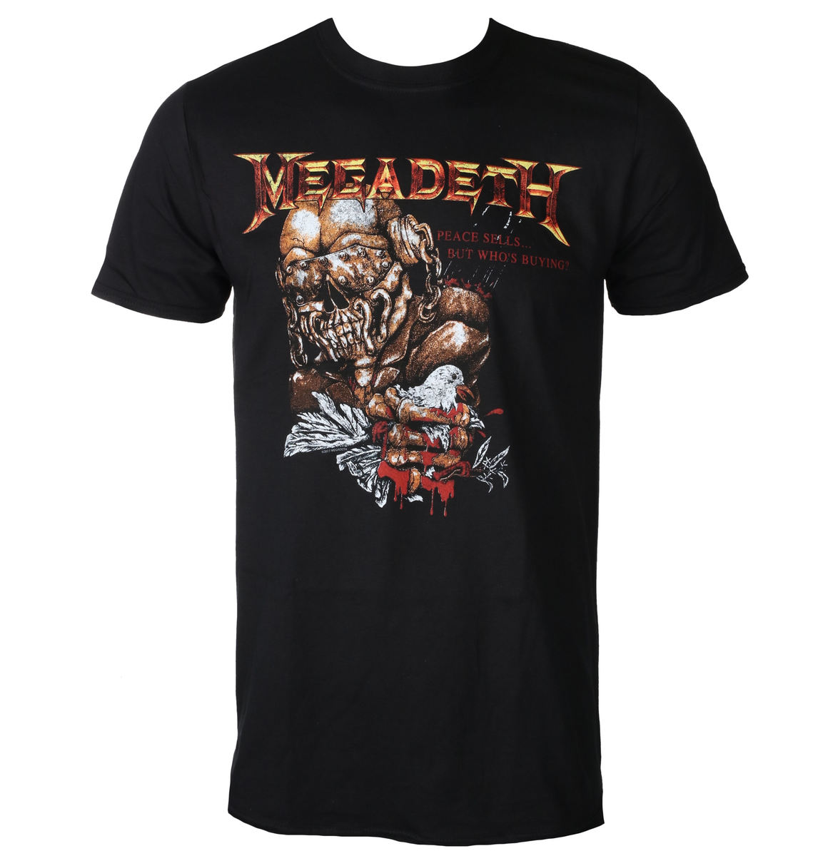 PLASTIC HEAD Megadeth PEACE SELLS BUT WHO'S BUYING černá