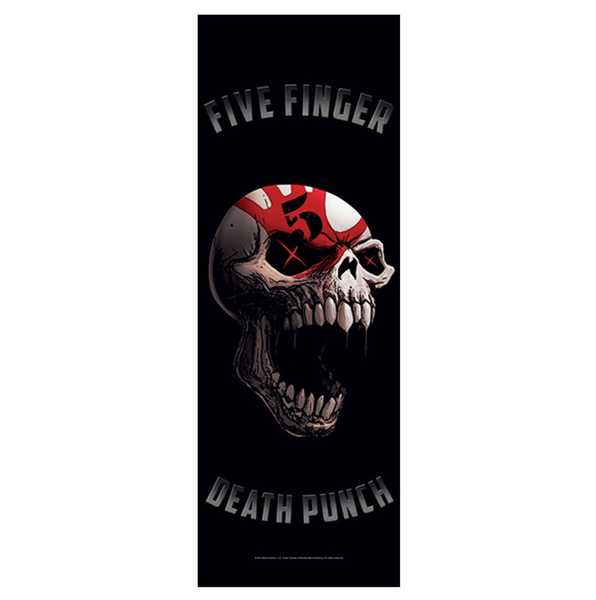 vlajka Five Finger Death Punch - Speech Skull - DF022