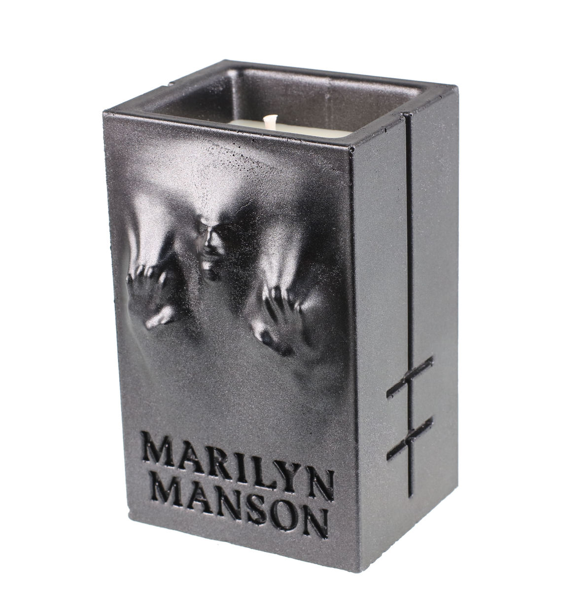 svíčka MARILYN MANSON - BLACK METALLIC - PLASTIC HEAD - PHCAND028