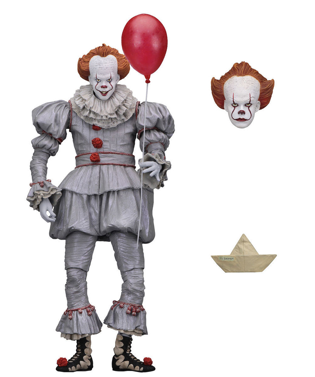 figurka TO - Stephen King - 2017 Pennywise - NECA45461
