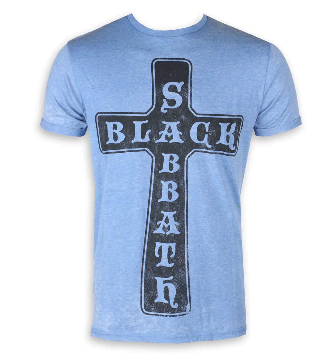ROCK OFF Black Sabbath Burnout Mid Blue černá