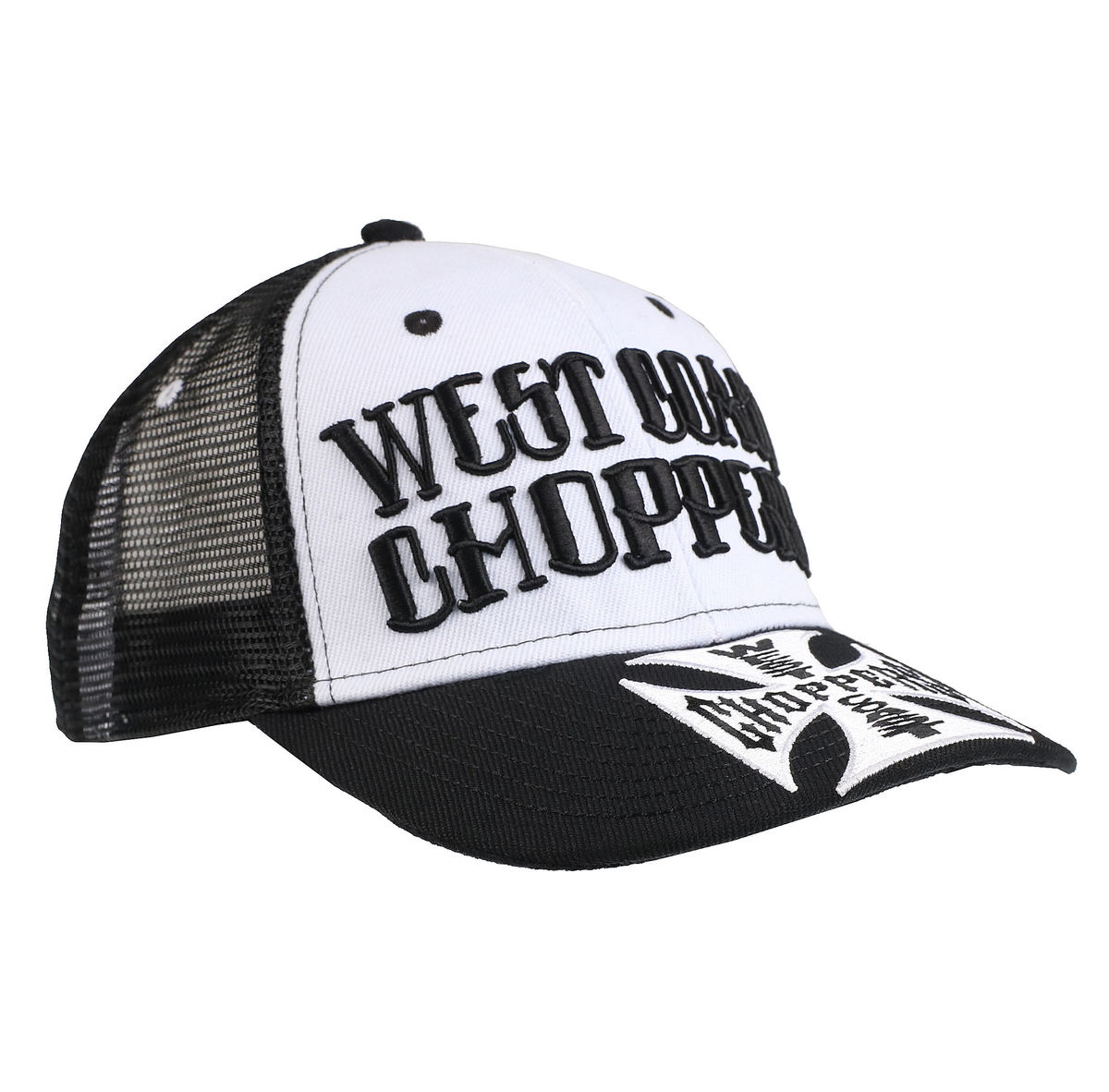 kšiltovka WEST COAST CHOPPERS - CLUTCH LOGO ROUND BILL - Black - WCCPT139ZW