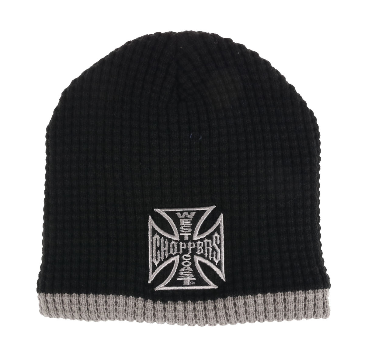 kulich WEST COAST CHOPPERS - KNITTED - BLACK GREY - WCCMT123ZW