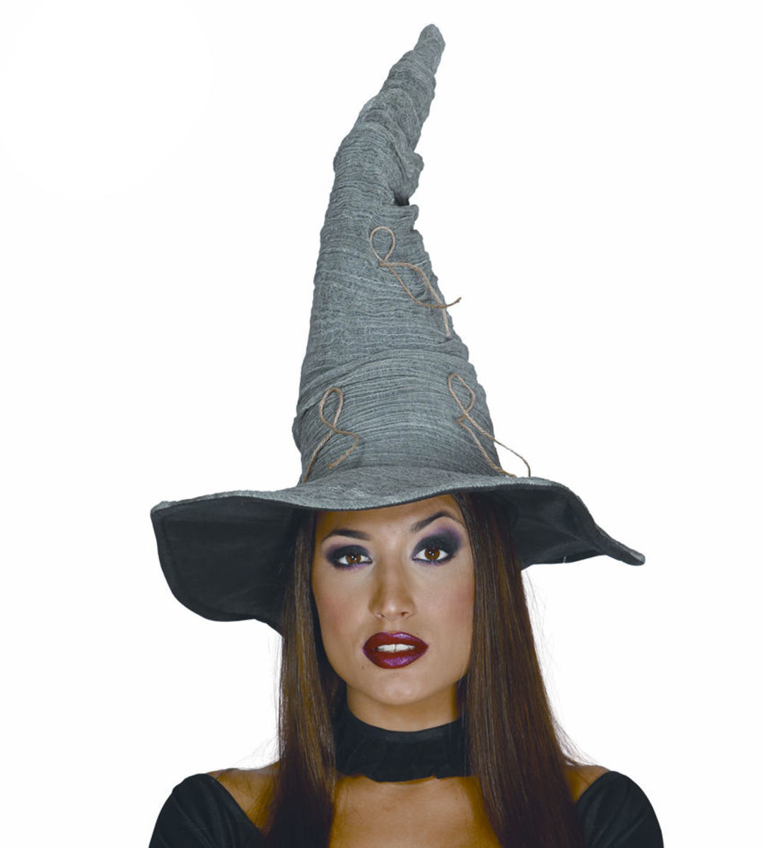 klobouk GREY WITCH - 13990