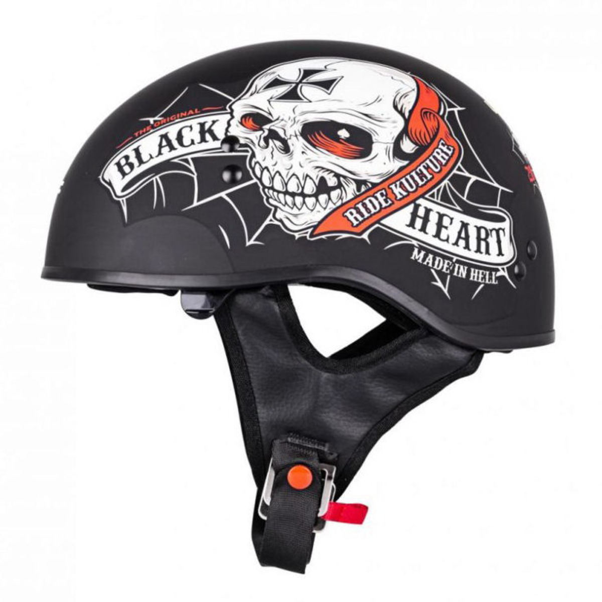 přilba BLACK HEART - CRUSTY DEMONS - BLACK - 029-0007-BLK M