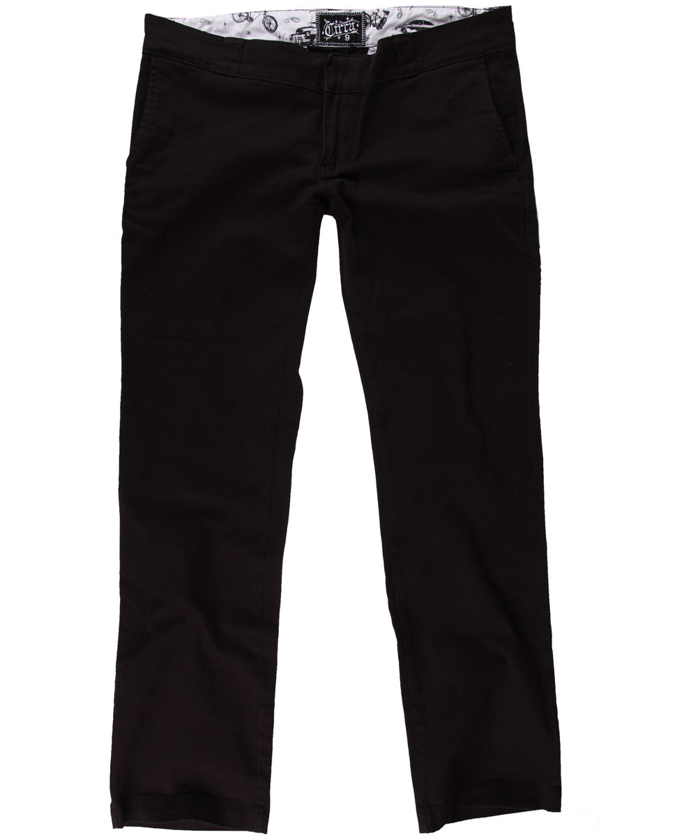 kalhoty dámské bokové CIRCA - IMPALITA - WPNT007 - BLACK