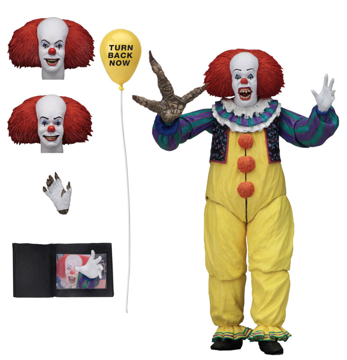 figurka TO - Stephen King - Pennywise - NECA45471