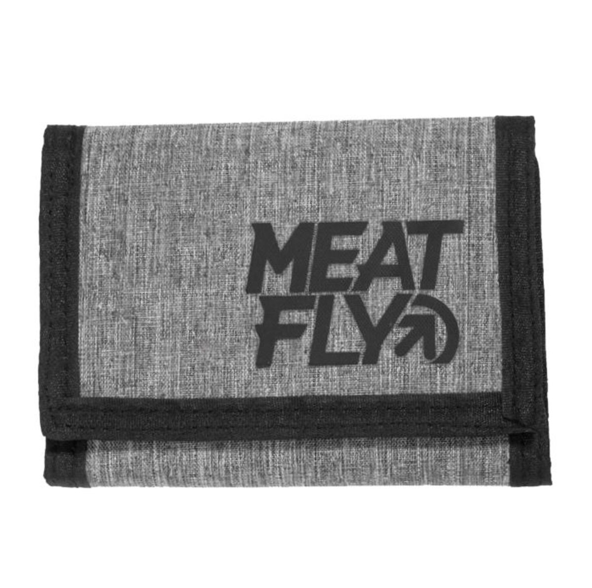 peněženka MEATFLY - ARROW - E - 12655 - Heather Grey Black - MEAT201