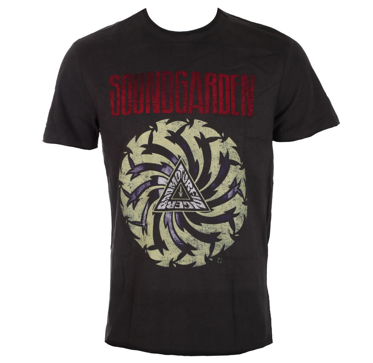 tričko pánské SOUNDGARDEN BADMOTORFINGER - CHARCOAL - AMPLIFIED - ZAV210SGB