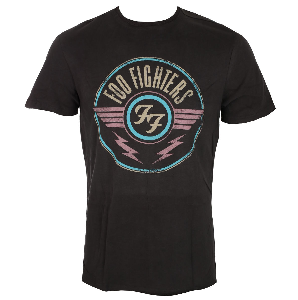 tričko pánské FOO FIGHTERS - CHARCOAL - AMPLIFIED - ZAV210FFA