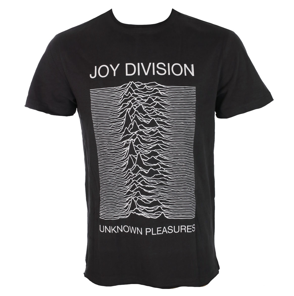 tričko pánské JOY DIVISION - UNKNOWN PLEASURES - CHARCOAL - AMPLIFIED - ZAV210JDU