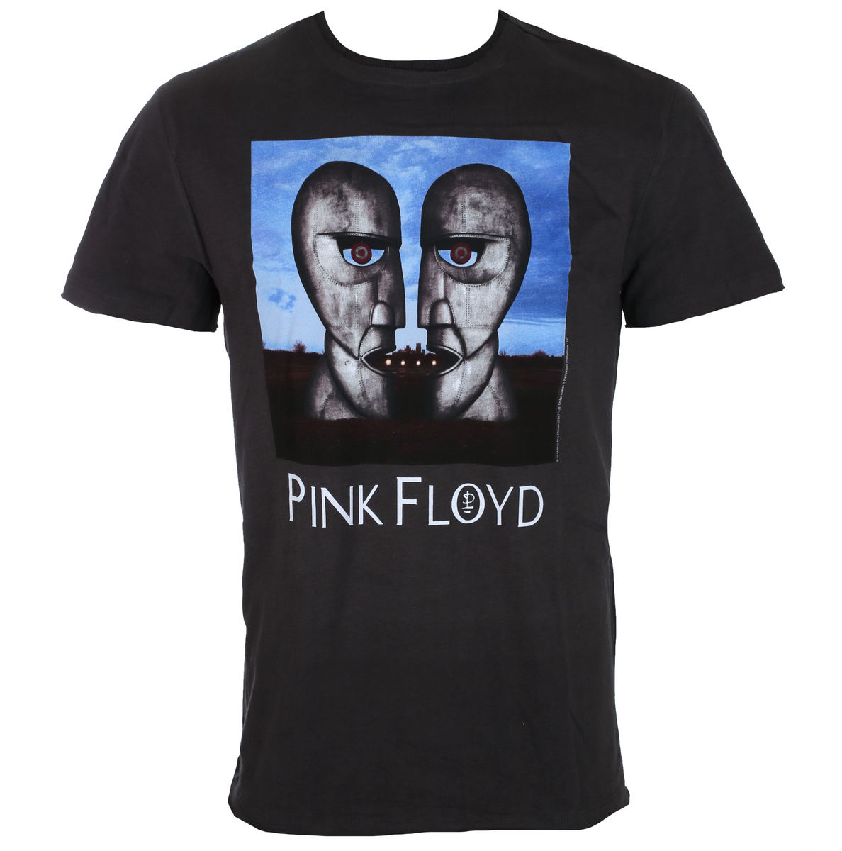 tričko pánské PINK FLOYD - THE DIVISION BELL - CHARCOAL - AMPLIFIED - ZAV210PDB