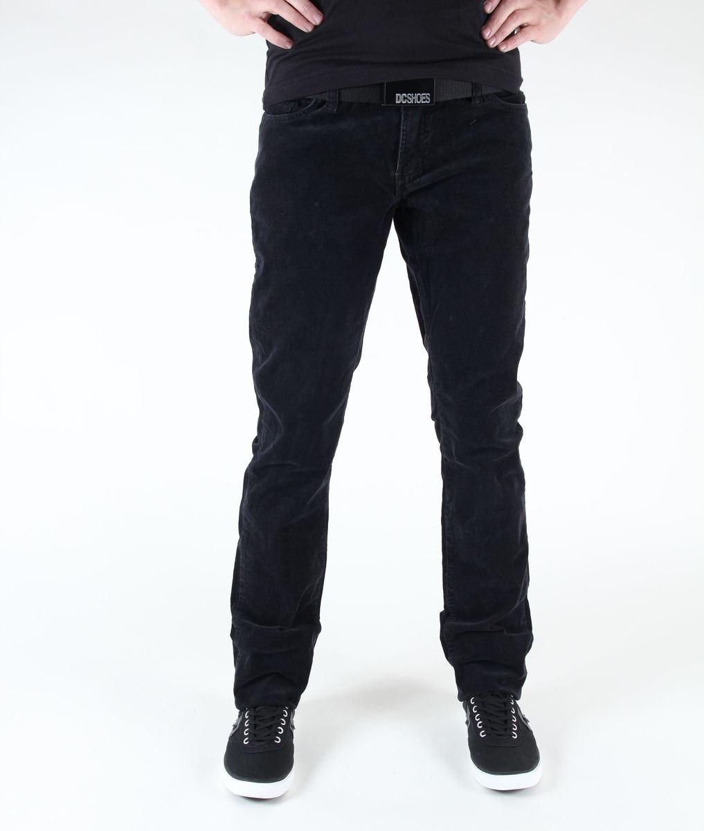 kalhoty dámské ETNIES - Magnolia - Black