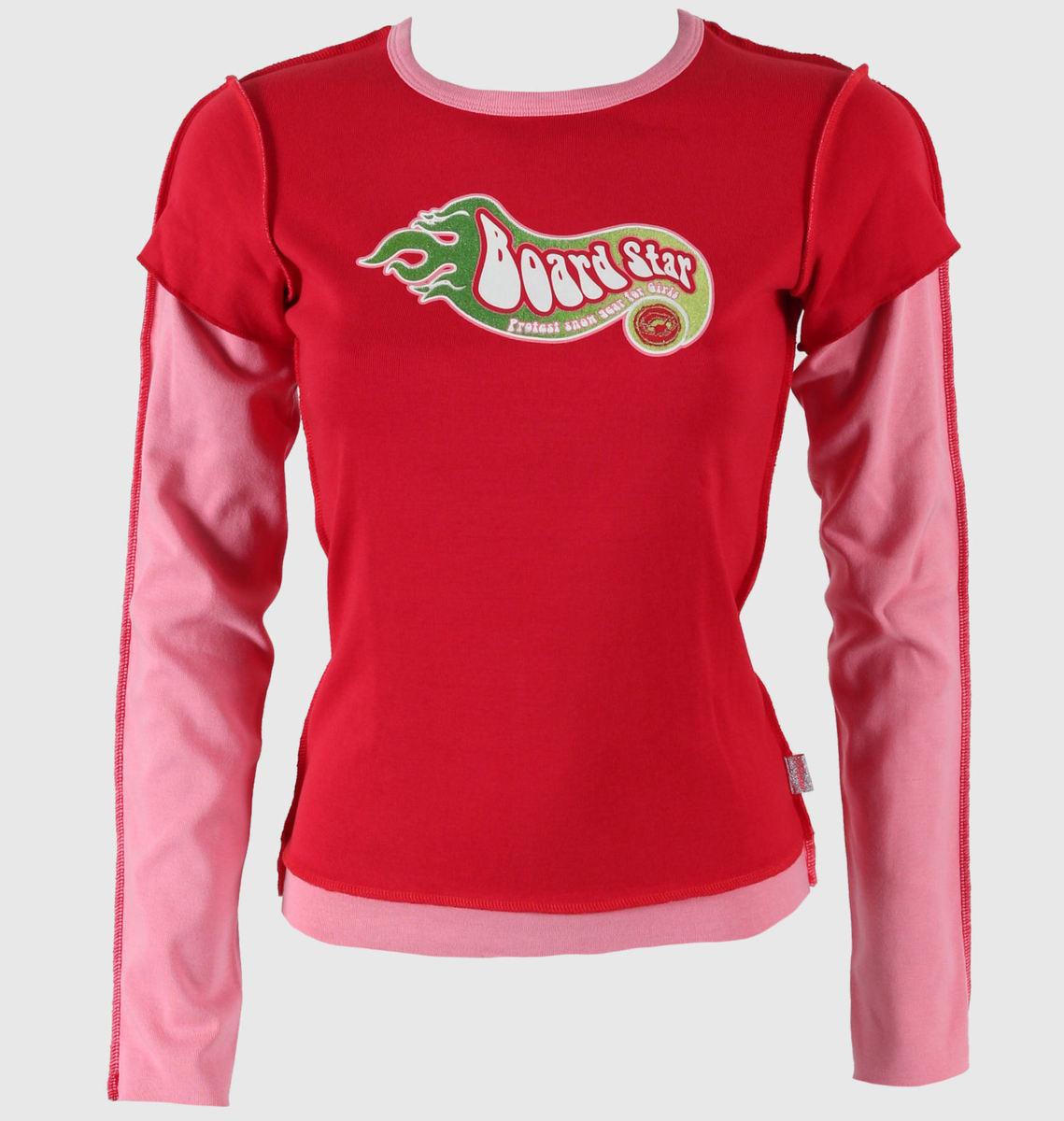 tričko dámské dlouhý rukáv Protest - Devil/Red